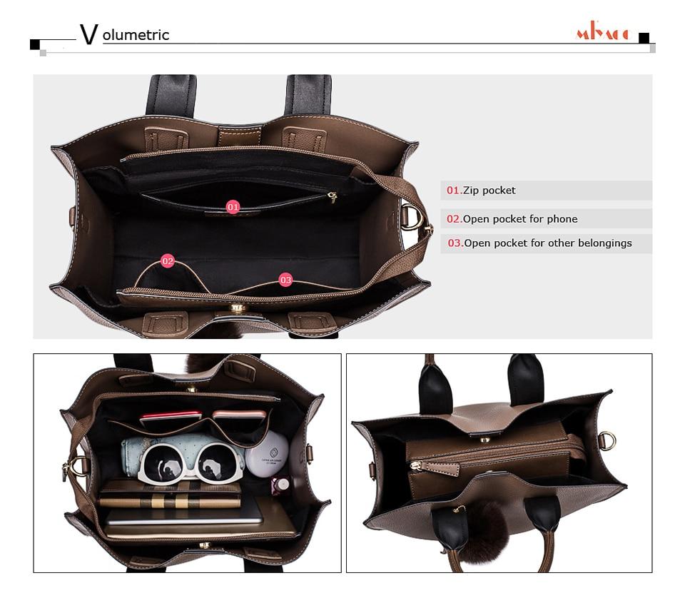 046459423c98 Miyaco Для женщин кожа Сумки Повседневное коричневые сумки Crossbody ...