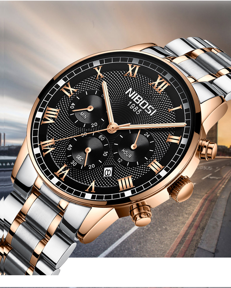 NIBOSI 2339 Quartz Watch 7