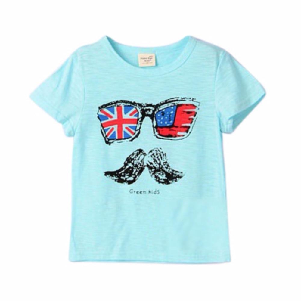 Newest Pineapple Beard Watermelon Smile Clothing Boys T Shirt Cotton Shirts Girl Kids T-shirts Top Children Clothes