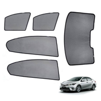 For TOYOTA COROLLA Sedan 2014 Magnetic Net Car Window Visor Side Rear Windows Blinds Windshield Sunshades Foldable Easy Storage