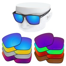 OOWLIT Anti Scratch Replacement Lenses for Oakley Sliver XL OO9341 Etched Polarized Sunglasses
