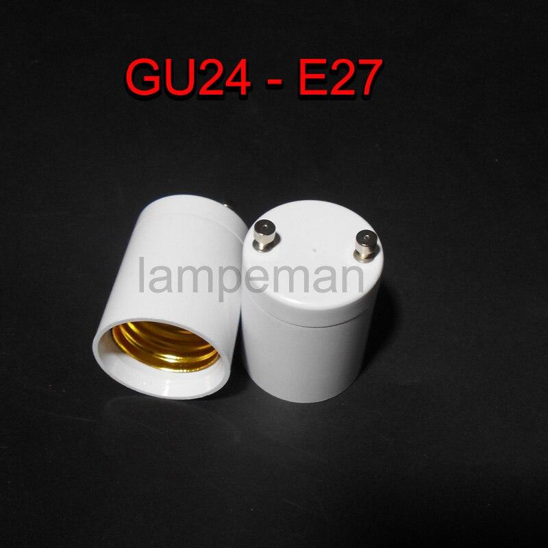 high quality gu24 to e27e26 led light bulb lamp holder adapter socket converter - Gu24 Led