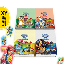 324Pcs/Lot English Pokemon Cards Game Anime Mega Pokemon EX Cards Action Figures XY Cards Toys Gift For Children Christmas Gift