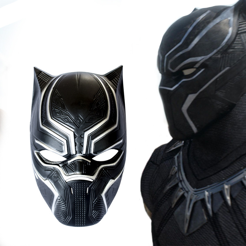 Black Panther Masks Captain America Civil War Roles Cosplay Mask Helmet Costume Halloween PP Adult and Kid Party Props