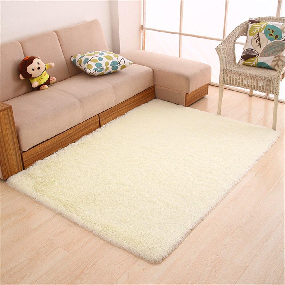 Panlonghome Малый Размеры моющиеся Гостиная прямоугольный Кофе столик диван Спальня плавающее окно прикроватной тумбочке короткие волосы ковры
