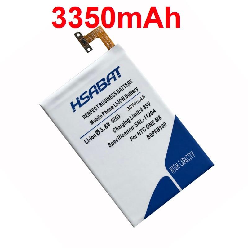 imágenes para B0P6B100 HSABAT Envío Libre 3350 mAh Batería para HTC UNO M8 uno 2 M8T M8X M8D E8 M8SW M8ST M8SD BOP6B100 batería
