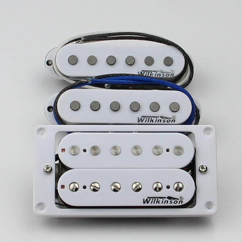 NEW Wilkinson White Humbucker Pickup Set WHH N B WVSM Guitar Pickup
