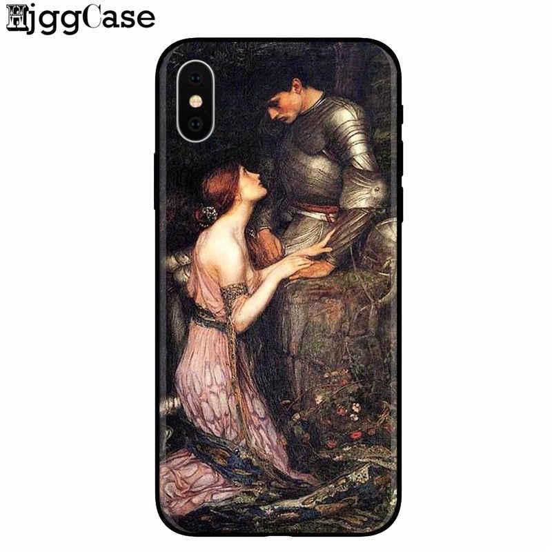 Arte pinturas el nacimiento de Venus Coque suave TPU funda para teléfono carcasa para iPhone 7 7 Plus 8 plus 6 6 S Plus X XS X MAX XR 5 5S SE