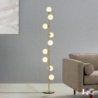 Nordic Home Deco Floor Lamp Lighting Fixtures LED Living Room Standing Lamp Luminaires Bedside Led Floor Lamp Lampara Luxurious