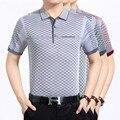 Бренд-одежда лето Простой стиль 2017 против морщин хлопка мужская с коротким рукавом тонкий polo рубашки Бизнес Случайные люди polo топы G61