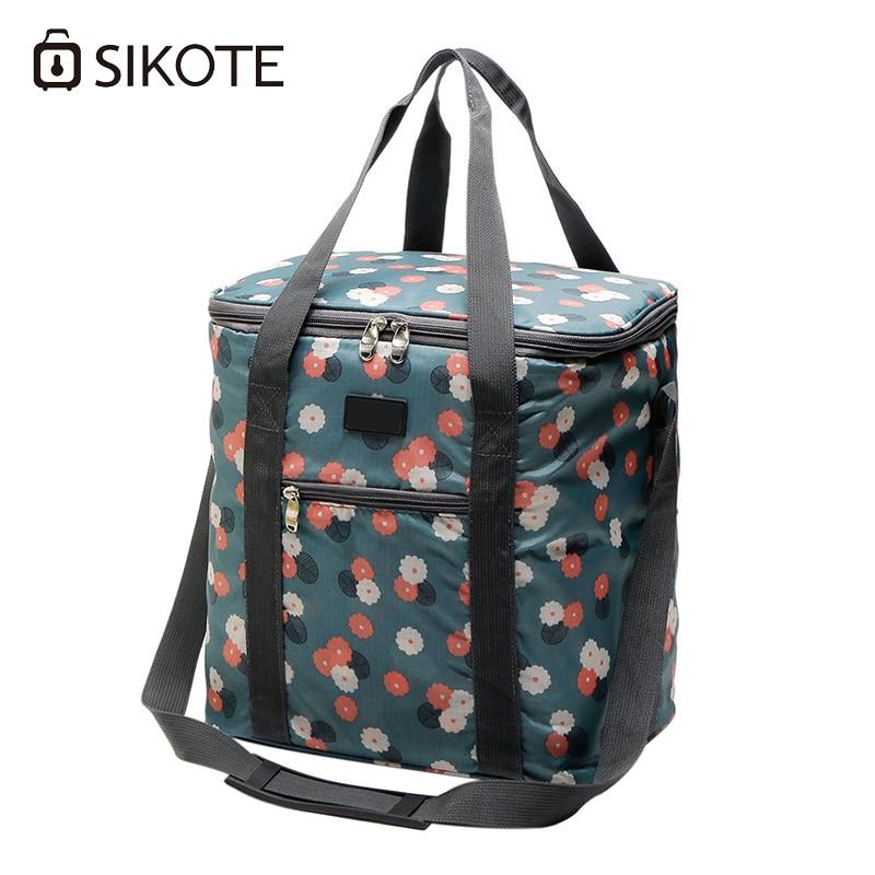 SIKOTE sac isotherme Portable pour femmes isolation boîte à Lunch solide sac fourre-tout pique-nique sac alimentaire Loncheras Termicas Para Mujer