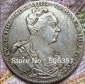 Оптовая продажа 1727 российских монет 1 рубль копия 100% Копер производство старых монет - фото