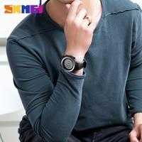 SKMEI Watch Relogio Masculino Men Sports Watch LED Luminous Waterproof Digital Watch Wrist Dual Time Timing Backlight Waterproof