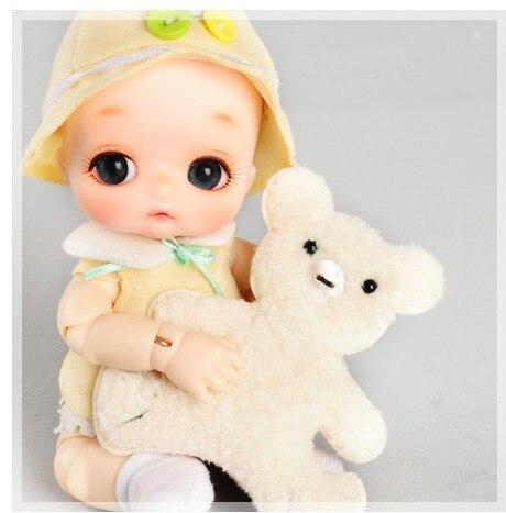 OUENEIFS bjd sd doll soom NAPPY CHOO popo 1/8 resin figures body model reborn baby girls boys dolls eyes High Quality toys