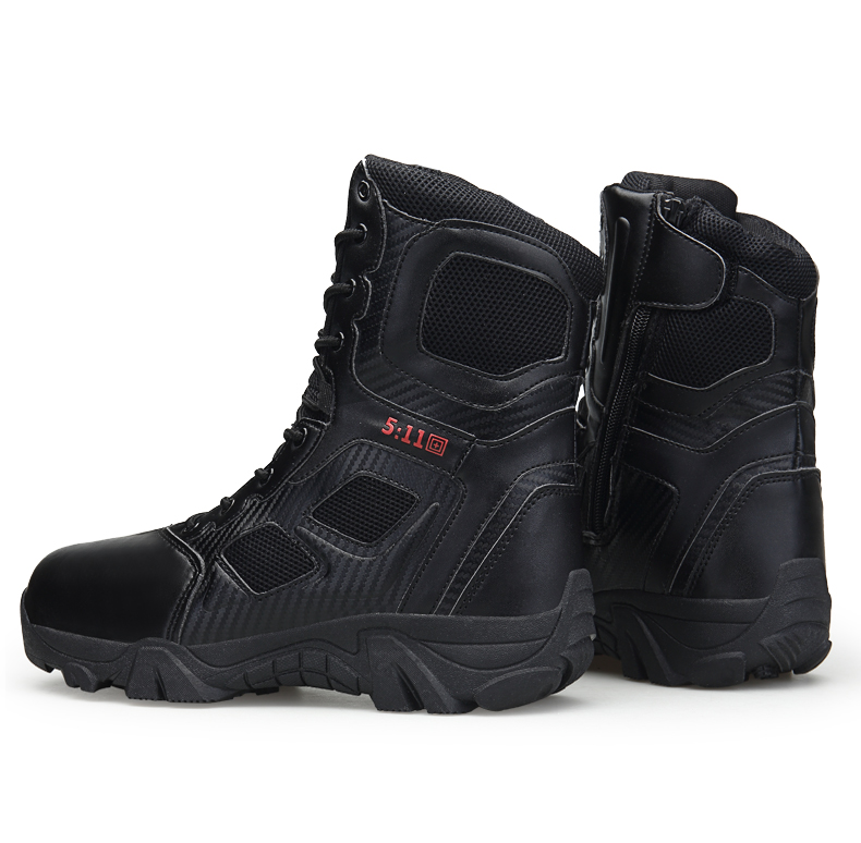 Brand Men\'s Boots Big Size Military boot Chukka Ankle Bot Tactical Army Male Shoes Safety Combat Mens Motocycle Boots (20)