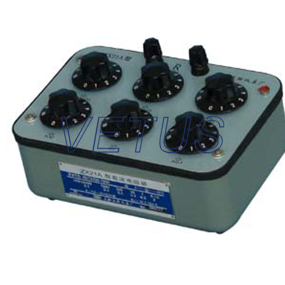 ZX21A decade resistance box of high precision factory price a spirited resistance