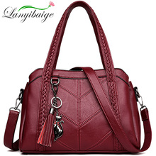 New Leather 술 bags 큰 Capacity Women 어깨 Messenger Bag 핸드백 유명 큰 백 디자이너 핸드백 (High) 저 (Quality 낭