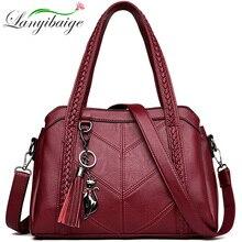Nowe skórzane torby kitki duża pojemność kobiety torebka na ramię torba słynny Big torba torebki markowe wysokiej jakości Sac