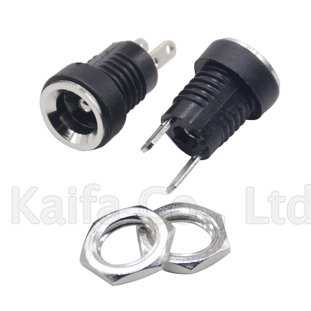 Home, Furniture & DIY 5/10PCS Male Female 2.1x5.5mm DC Power Plug Jack Adapter Wire Connector for CCTV