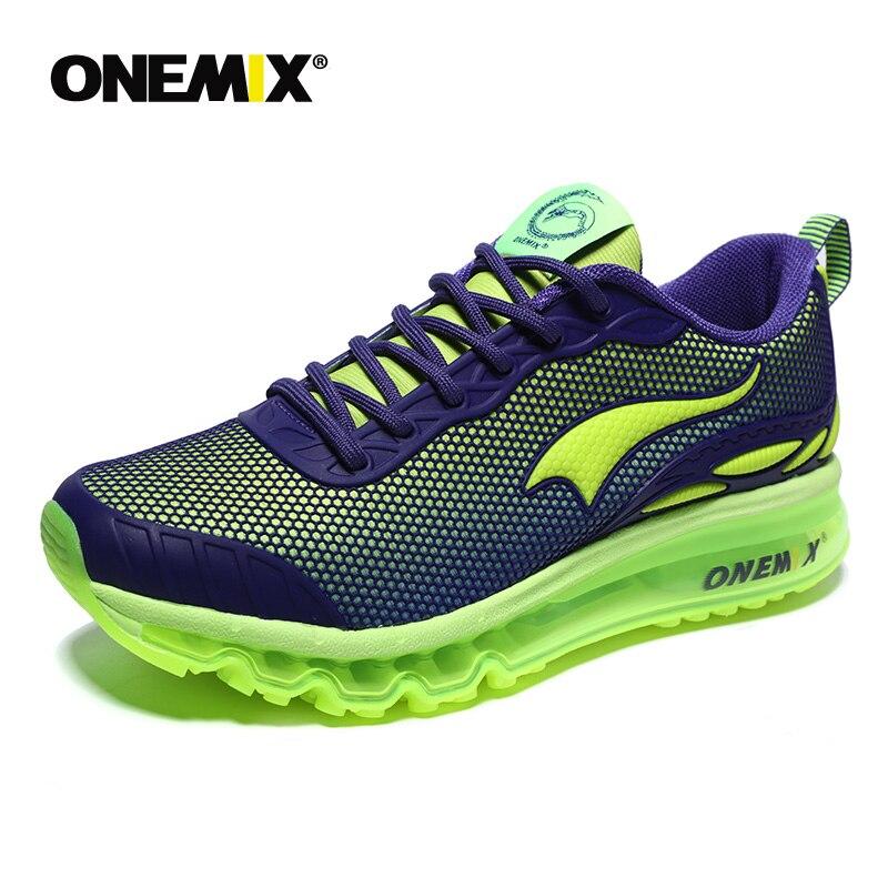 ONEMIX Chaussures de Course pour hommes Respirant Maille Femme Sport Sneakers chaussure homme Hommes Jogging Confortable Hommes Chaussures Ventes - 3