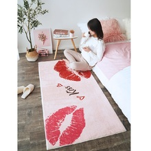 Modern simplicity Carpet bedroom ins bedroom living room Coffee table mat Bedside carpet Anti-slip mat strong absorbent carpet fashion round carpet bedroom ins bedroom living room coffee table mat bedside carpet anti slip mat strong absorbent carpet