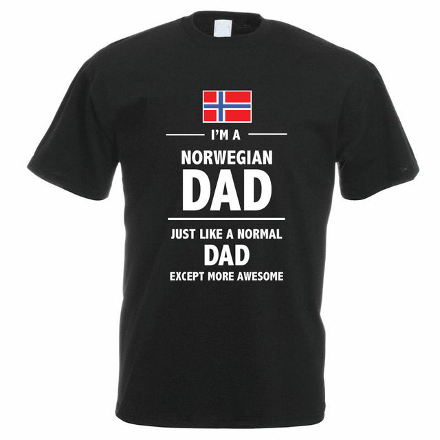 1fd00837e33 Best T Shirt Sites Men S I M A Norwegian Dad Daddy Father S Day Norway Fun  Gift O-Neck Cotton Short Sleeve Shirts