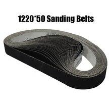 """10 個 50 × 1220 ミリメートル A/O 研磨サンディングベルト 2 """"* 48"""" P40 1000 粗い微粉砕ベルトグラインダーアクセサリー"""