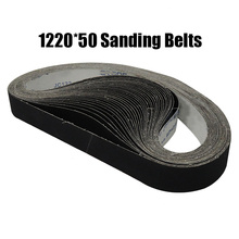 "10 pieces 50x1220mm A/O Abrasive Sanding Belts 2""*48"" P40 1000 Coarse to Fine Grinding Belt Grinder Accessories"