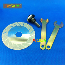 FitSain-Diamond Cutting Discs Conversion shaft Connecting rod 10mm Adapter coupling bar Cutting rod angle grinder sawing rod(China)