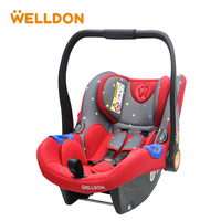 Welldon Chair Body Adjust Car Seat Group 0/0+ (0 13kg) Iosfix Interface High Back Child Safety Seat 0 15 Months
