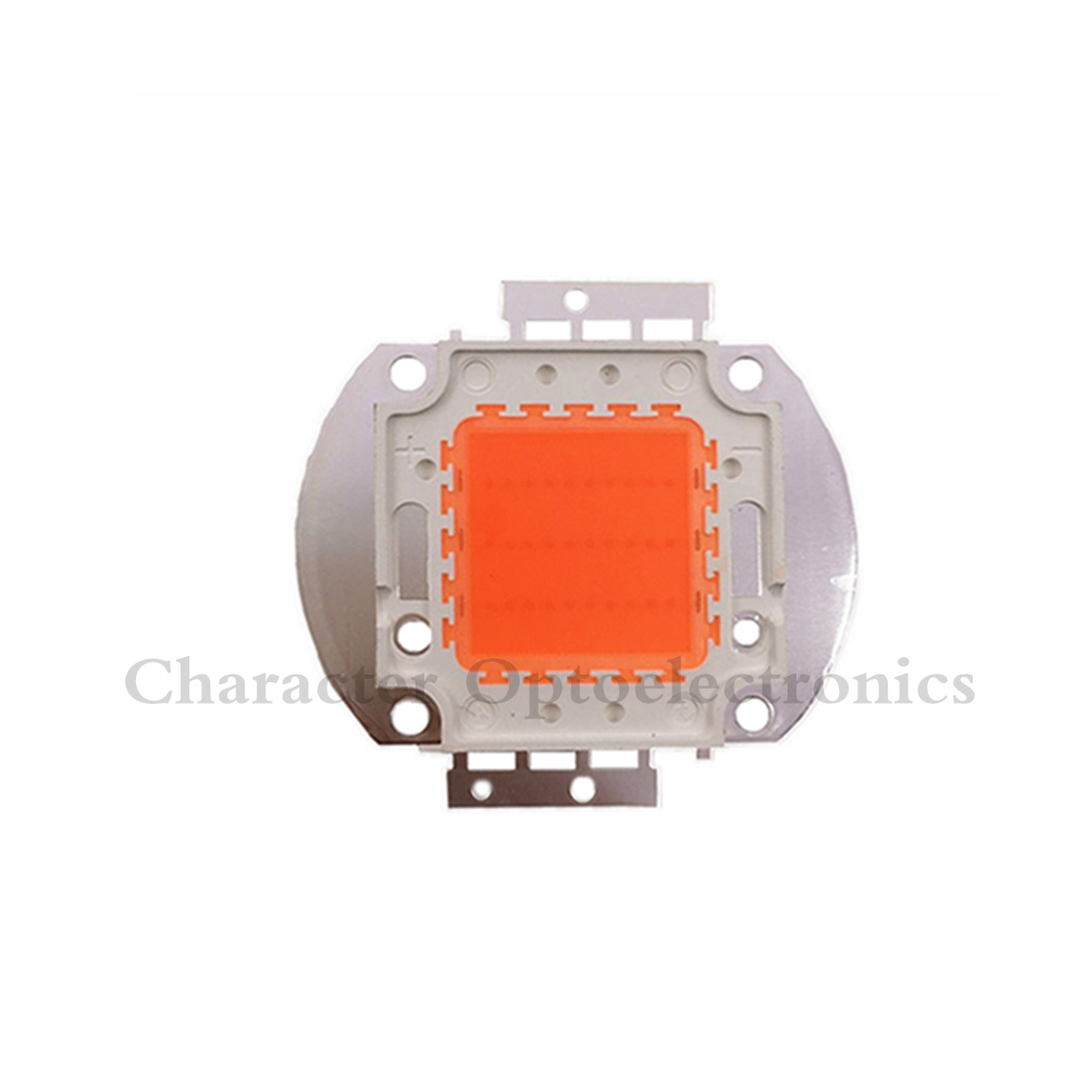 10PCS 30W LED Grow light chip Epistar full spectrum 380-840nm led grow array for indoor DIY growth and bloom