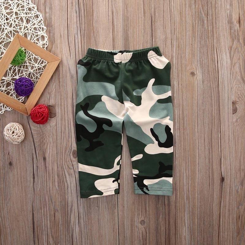 2e7527468 2pcs Cotton Baby Boy Clothing Set Hot Sale Spring Newborn Baby Clothes  Roupas Bebe Kids Clothing Camouflage Pants Letter | AMAZINGSTORE4U