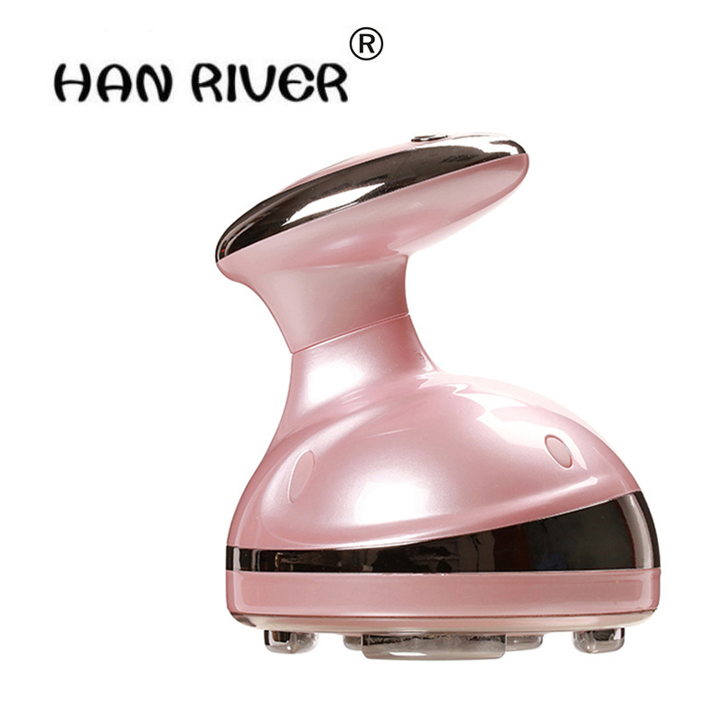 HANRIVER NEW Portable Ultrasonic Body Slimming Massager Cavitation Fat Removal Photon Radio Frequency RF therapy For Weight Lose hanriver massager cushion for shakti