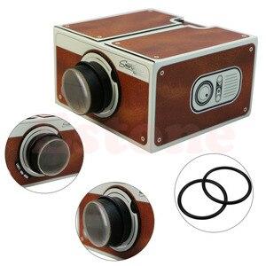 Image 4 - Kostenloser versand Tragbare Karton Smartphone Projektor 2,0/Montiert Telefon Projektor Kino Drop Verschiffen