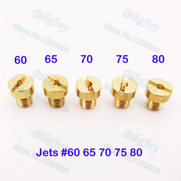 5mm Replacement Carb Jets #65 70 75 80 85 For Dellorto SHA PHBG Carburetor Carby