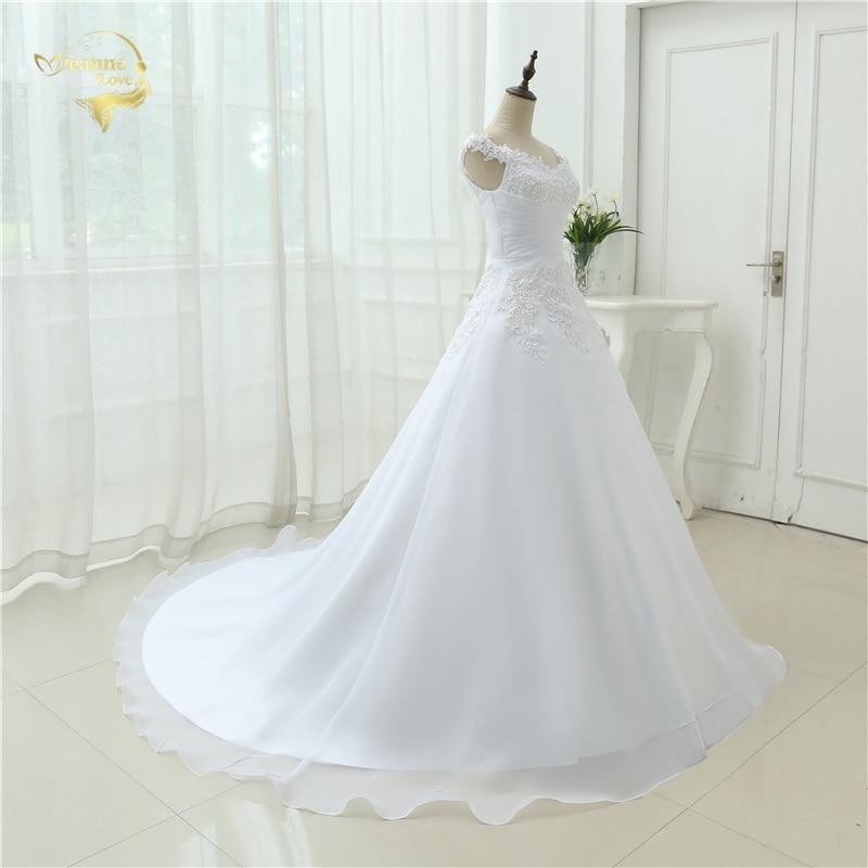 Vestido De Noiva Vestido de Boda en la Playa Casamento A line Cap - Vestidos de novia - foto 4