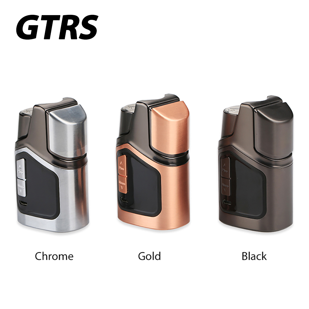 Original 150W GTRS GT150 TC Box MOD with Real Clock Display & Unique LIMOU Chip Built-in 4000mAh Battery E-cigarette Vape TC Mod original gtrs gt200 ii box mod 200w limou chip upgraded version of gt150 electronic cigarette mod 18650 200w vaporizer mode