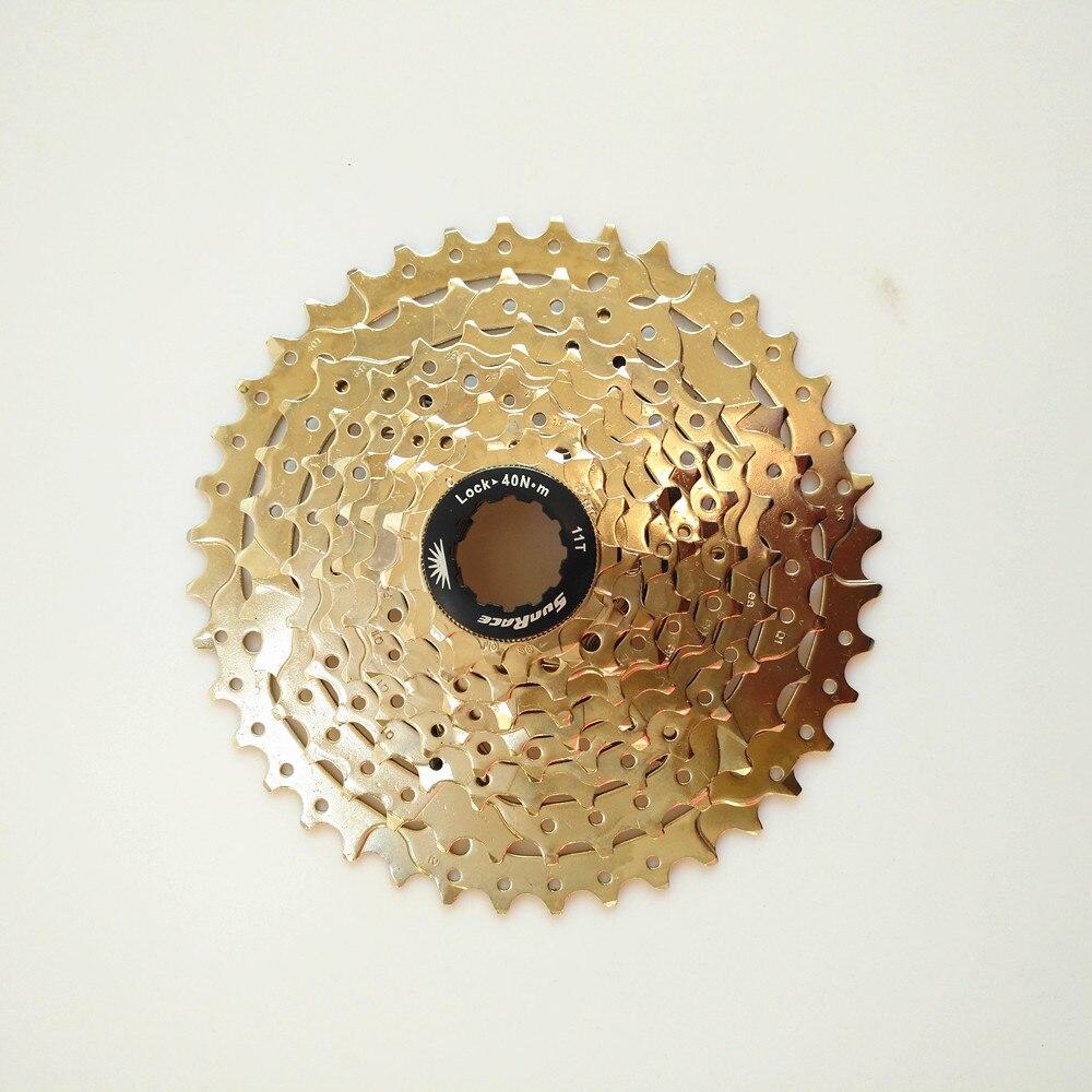 SunRace 9 Speed mtb cassette Mountain Bike bicycle freewheel 11-40t 2018 anima 27 5 carbon mountain bike with slx aluminium wheels 33 speed hydraulic disc brake 650b mtb bicycle