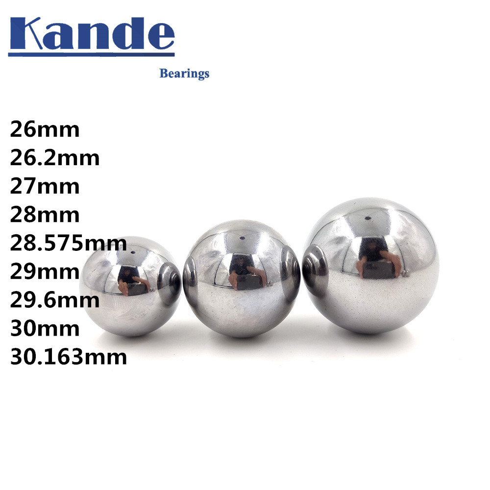 High Quality 26-30mm GCR15 Solid Ball High Precision G10 1PC 26 27 28 29 30mm 1PC Hardness Bearing Ball For CNC ,impact Test .