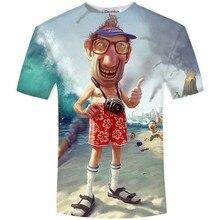 New Arrival Funny Master Roshi 3d T Shirt Summer Hipster Short Sleeve Tee Tops Men/Women Anime Dragon Ball Z T-Shirts Homme