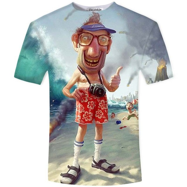 New Arrival Funny Master Roshi 3d T Shirt Summer Hipster Short Sleeve Tee Tops Men/Women Anime Dragon Ball Z T-Shirts Homme