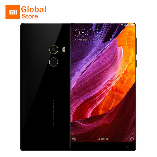 "Xiaomi mi смешивания pro 6 ГБ ram 256 ГБ rom мобильный телефон snapdragon 821 quad core cpu 6.4 ""2040x1080 P Edgeless Display Ceramics Тела"