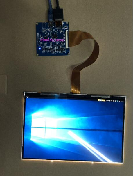 8.9 pouces TFTMD089030 LCD + carte de pilote kit de port HDMI vers MIPI8.9 pouces TFTMD089030 LCD + carte de pilote kit de port HDMI vers MIPI