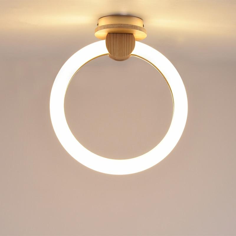 Moderne LED Nordique Couloir plafonniers D'allée Plafond éclairage Nouveauté Porche Luminaires Balcon Enfants chambre plafond lampes