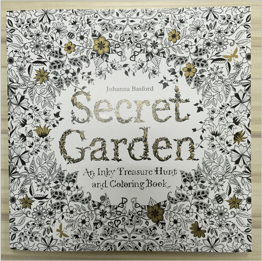 96 Pages My Secret Garden Coloring Books For Adult Child Relieve Stress Kill Time DIY Graffiti Painting Drawing Design Art Book