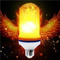 Darvin e27炎ランプ炎効果火災ちらつきランプled電球ライトac85-260v用パーティー炎ランプ模擬ちらつき
