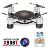 Quadcopter Mini Drone MJX X906T 5 8G FPV 720P CAM 2 4G 4CH 6 Axis Gyro