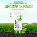 BIOAQUA Extracto de Aloe Vera Reparación Hidratante Limpiador Facial Femenino/Masculino Tratamiento Deep Pore Limpiador Acné Control de Aceite Limpio