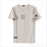 Мужские футболки наивысшего качества Модные Мужчины с коротким рукавом футболки мужские футболки топы мужская футболка
