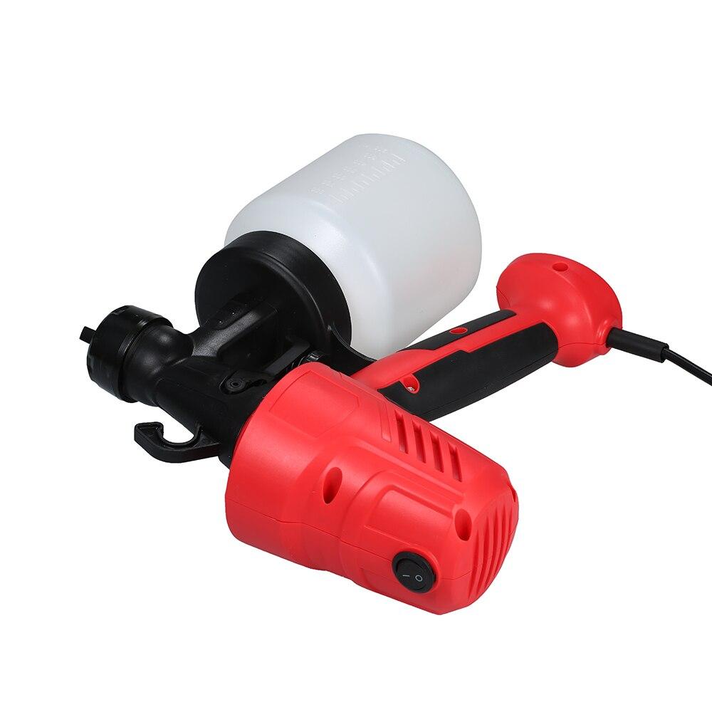 KKmoon JR-1820 230-240V 400W Pulverizador El/éctrico de Pintura Pistola sin Pintura Mini Pulverizador M/áquina para Pintar Autom/óviles Muebles de Madera Pared Carpinter/ía con Rociador